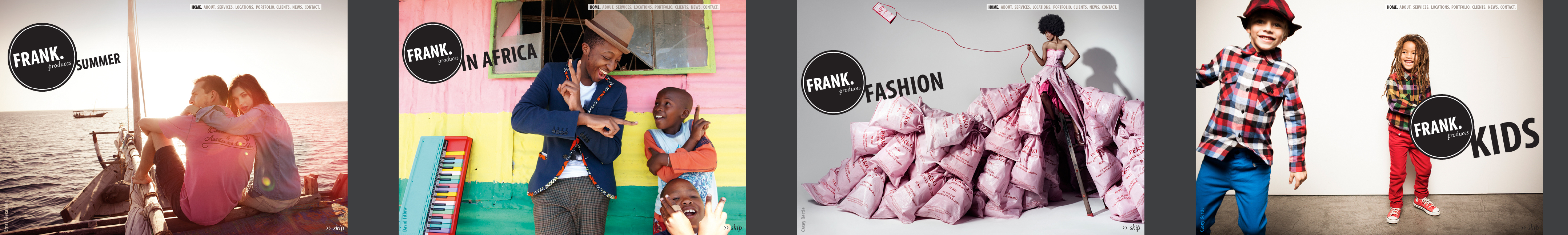 Frank's new website launches